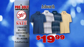 Pro Golf Discount 36th Anniversary Sale TV Spot