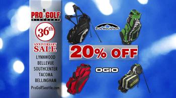 Pro Golf Discount 36th Anniversary Sale TV Spot - Thumbnail 4
