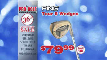 Pro Golf Discount 36th Anniversary Sale TV Spot - Thumbnail 5