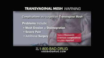 Pulaski & Middleman TV Spot, 'Transvaginal Mesh' - Thumbnail 4
