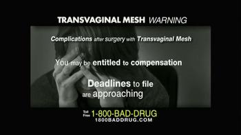 Pulaski & Middleman TV Spot, 'Transvaginal Mesh' - Thumbnail 9
