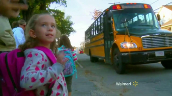 Walmart TV Spot, 'First Day of School' Song by Bruno Mars - Thumbnail 1