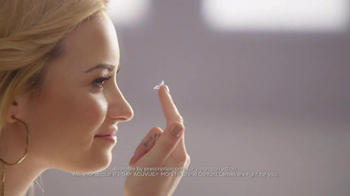 ACUVUE TV Spot Featuring Demi Lovato