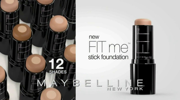 Maybelline New York Fit Me Stick Foundation TV Spot - Thumbnail 10