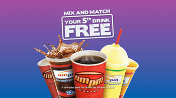 AmPm Mix and Match Free Drink TV Spot, 'Snacks' - Thumbnail 7