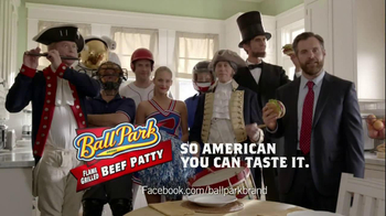 Ball Park Beef Patty TV Spot, 'Abraham Lincoln' - Thumbnail 10