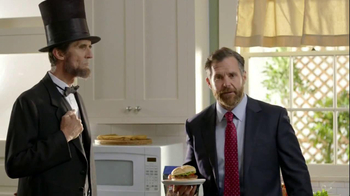 Ball Park Beef Patty TV Spot, 'Abraham Lincoln' - Thumbnail 4