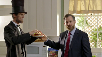 Ball Park Beef Patty TV Spot, 'Abraham Lincoln' - Thumbnail 6
