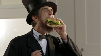 Ball Park Beef Patty TV Spot, 'Abraham Lincoln' - 4426 commercial airings