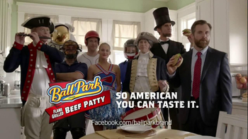 Ball Park Beef Patty TV Spot, 'Abraham Lincoln' - Thumbnail 8