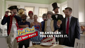 Ball Park Beef Patty TV Spot, 'Abraham Lincoln' - Thumbnail 9
