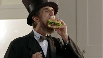 Ball Park Beef Patty TV Spot, 'Abraham Lincoln'