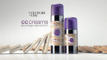CoverGirl + Olay CC Cream TV Spot, 'Dominos' Featuring Queen Latifah - Thumbnail 4