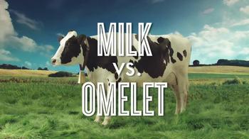 Got Milk? TV Spot, 'Milk vs. Omelete' - Thumbnail 2