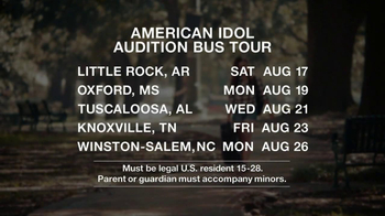 American Idol Auditions TV Spot - 1 commercial airings