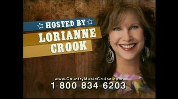 Country Music Cruise TV Spot - 14 commercial airings