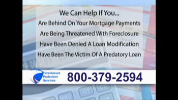 Foreclosure Protection Services TV Spot - Thumbnail 5