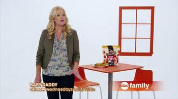 ABC Family TV Spot, 'Tyson Any'tizers' Featuring Melissa Peterman - Thumbnail 5