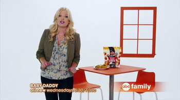 ABC Family TV Spot, 'Tyson Any'tizers' Featuring Melissa Peterman - Thumbnail 6