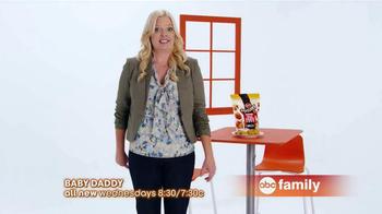 ABC Family TV Spot, 'Tyson Any'tizers' Featuring Melissa Peterman - Thumbnail 7