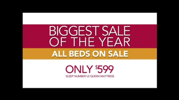Sleep Number Biggest Sale of the Year TV Spot - Thumbnail 6