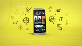 Sprint HTC One TV Spot, 'Personal Tutor' - 188 commercial airings