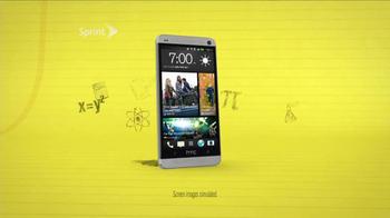 Sprint HTC One TV Spot, 'Personal Tutor' - Thumbnail 2