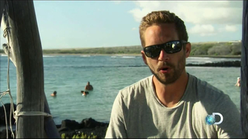 Discovery Channel Save the Sharks TV Spot Featuring Paul Walker