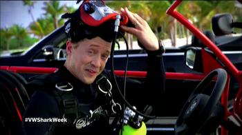 Volkswagen Beetle Convertible TV Spot, 'Shark Week' Featuring Luke Tipple - Thumbnail 3
