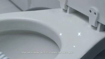 Scrubbing Bubbles Bathroom Cleanser TV Spot, 'Door Is Open' - Thumbnail 6