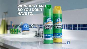 Scrubbing Bubbles Bathroom Cleanser TV Spot, 'Door Is Open' - Thumbnail 7