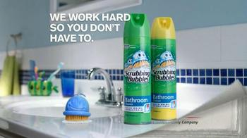 Scrubbing Bubbles Bathroom Cleanser TV Spot, 'Door Is Open' - Thumbnail 8