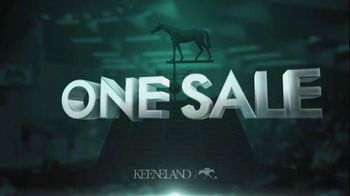 Keeneland September Sale TV Spot, 'One Sale' - 11 commercial airings
