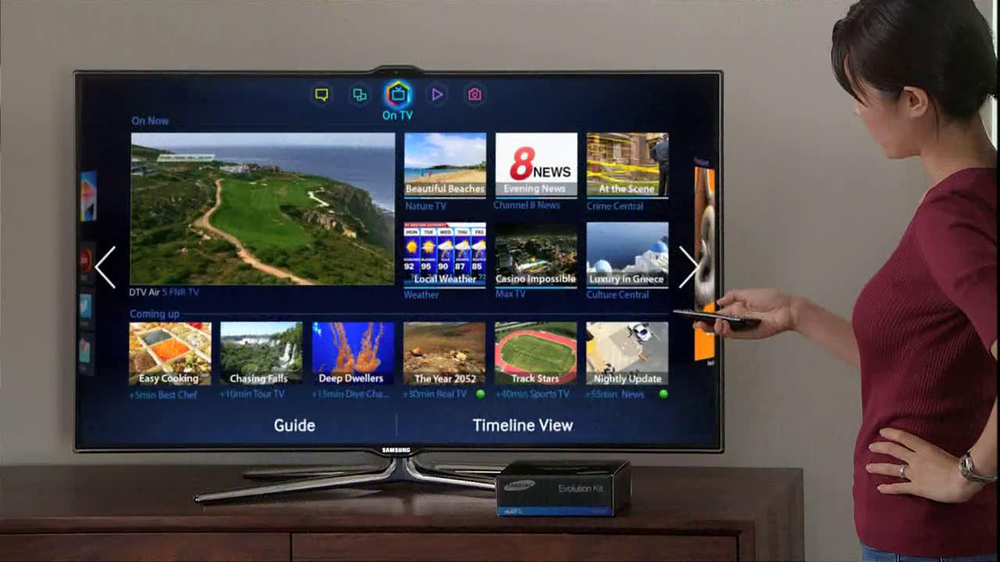 Samsung Smart TV Evolution Kit TV Commercial, 'Hot Yoga' - Video