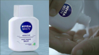 Nivea Sensitive Men Post-Shave Balm TV Spot, 'Soothe Your Shave' - Thumbnail 3