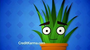 Credit Karma TV Spot, \'Talking Plant\'