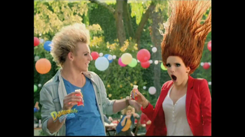 Danimals Smoothies TV Spot, 'Burstified' Feat. Bella Thorne, Ross Lynch - Thumbnail 4