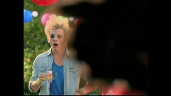 Danimals Smoothies TV Spot, 'Burstified' Feat. Bella Thorne, Ross Lynch - Thumbnail 6