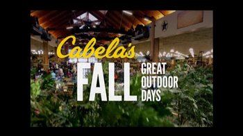 Cabela's Fall Great Outdoor Days TV Spot