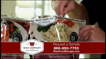 Wise Company Emergency Food Supply TV Spot, \'Free Sample\'