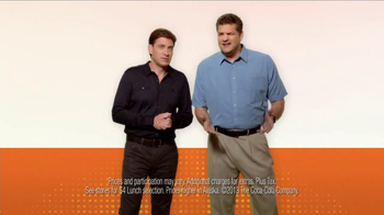 Subway $4 Lunch TV Spot Featuring Mike and Mike - Thumbnail 2