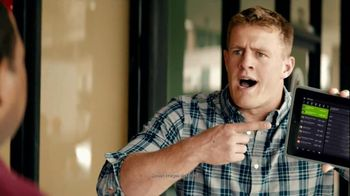 Yahoo! Fantasy Football TV Spot, 'J.J. Watt Shuts Down the Restaurant' - 25 commercial airings