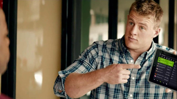 Yahoo! Fantasy Football TV Spot, 'J.J. Watt Shuts Down the Restaurant' - Thumbnail 6