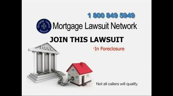 Mortgage Lawsuit Network TV Spot - Thumbnail 5