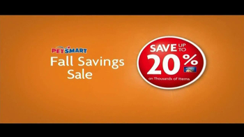 PetSmart Fall Savings Sale TV Spot - Thumbnail 3