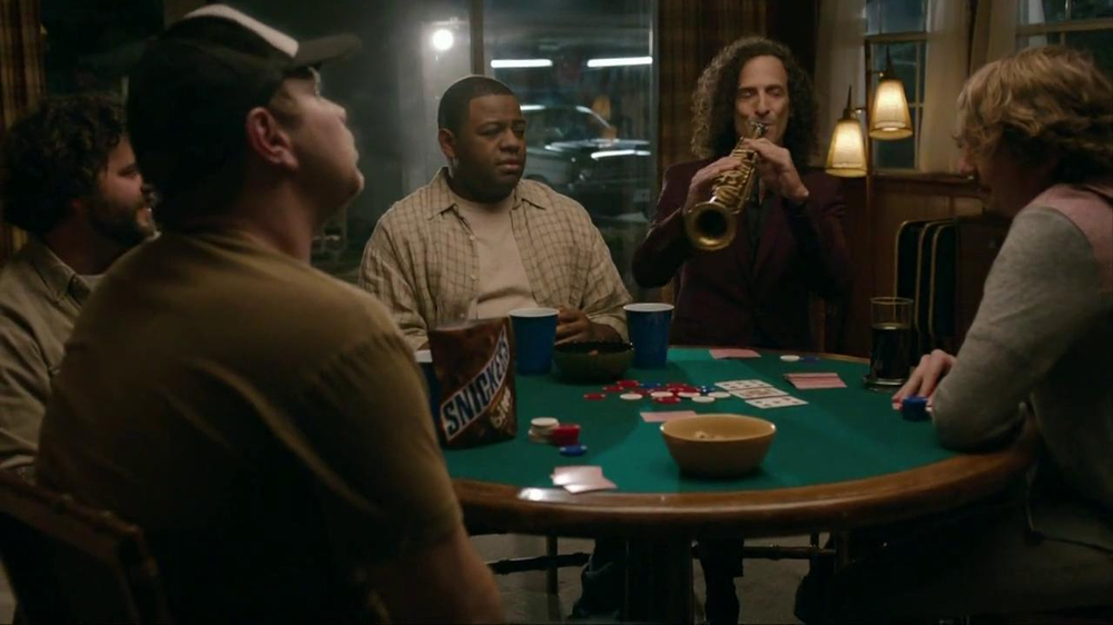 Snickers Bites TV Commercial Featuring Kenny G - iSpot.tv