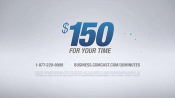 Comcast Business TV Spot, '20-Minute Advantage' - Thumbnail 9