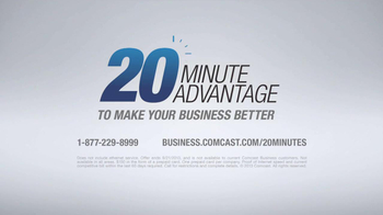 Comcast Business TV Spot, '20-Minute Advantage' - Thumbnail 8