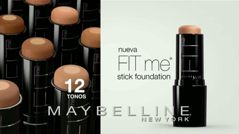 Maybelline New York Fit Me Stick Foundation TV Spot [Spanish] - Thumbnail 9