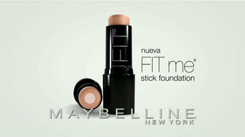 Maybelline New York Fit Me Stick Foundation TV Spot [Spanish] - Thumbnail 2